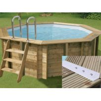 piscine bois 4m60