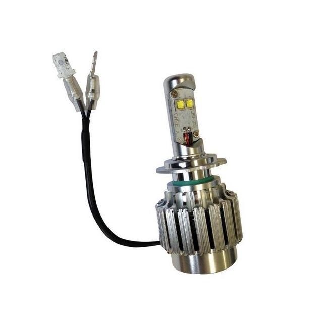 tecno globe ampoule led h7 ventil e classic pas cher achat vente feux rueducommerce. Black Bedroom Furniture Sets. Home Design Ideas