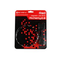 BITFENIX - Bande LED magnetique Alchemy 2.0 - 12 cm - Rouge