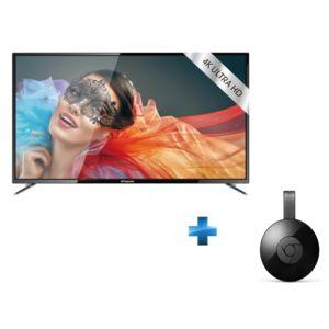 polaroid tvc55uhdp cl google chrome cast v3 pas cher achat vente tv led de 50 39 39 55. Black Bedroom Furniture Sets. Home Design Ideas