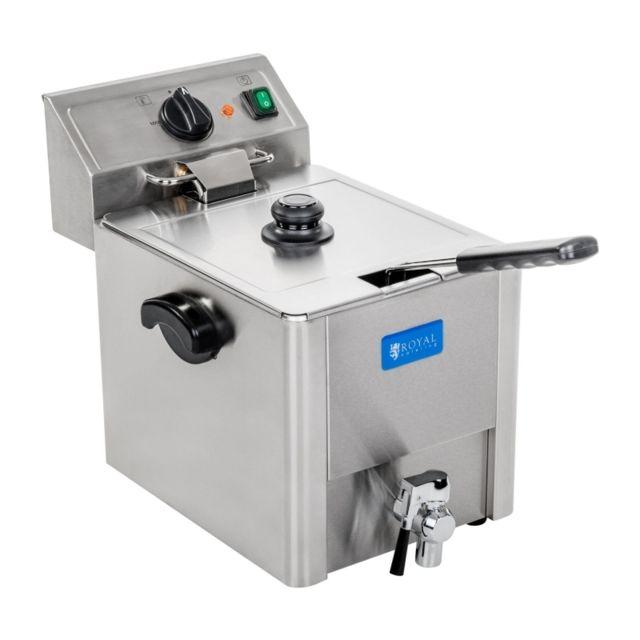 Autre Friteuse acier inox 1 bac 13 litres cuve amovible avec thermostat Ego professionnelle 3614013