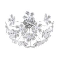 plafonnier sampa helios fleurs plafonnier blanc 6438 350 Résultat Supérieur 15 Frais Lustre Fleur Photographie 2017 Hjr2
