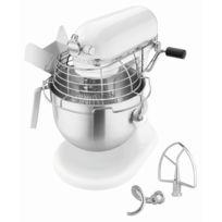 Bartscher - Robot KitchenAid professional 1,3 Hp 5KSM7990XEWH Blanc
