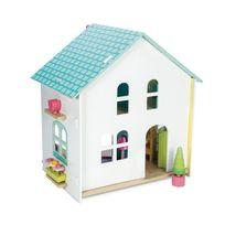 Le Toy Van - Maison aux tuiles vertes meublée