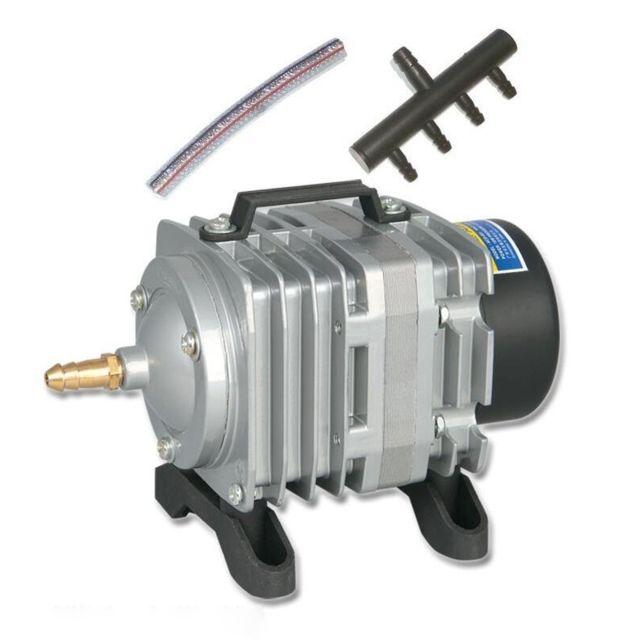 Wewoo Le réservoir de poissons de fruits de mer de compresseur de pompe à air électromagnétique d'ACO-001 18W 38L / Min augmen