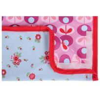 Minene Uk Ltd - Minene Uk Bavoir Attrape Miettes Motif Floral Lilas Rose