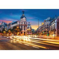 Ravensburger - Puzzle 1000 pièces : Gran Vía, Madrid