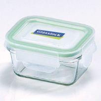 Glasslock - Boite hermétique rectangulaire 18cl avec couvercle hermétique - Micro-ondes