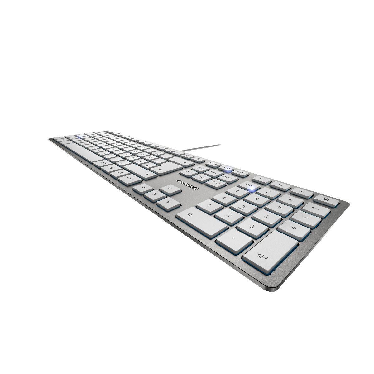 KC 6000 SLIM - Clavier ultra-plat avec 6 touches supplémentaires