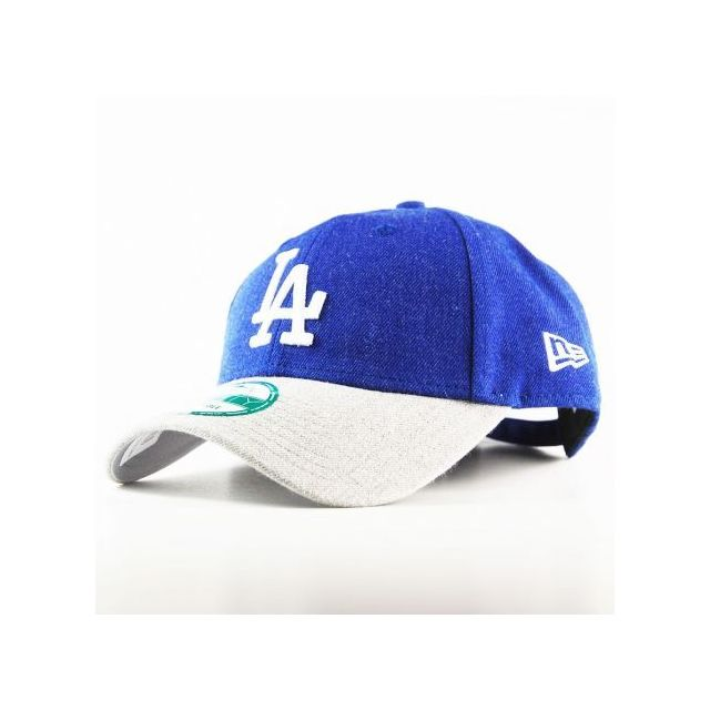 8ed0e762bedd New Era Cap - Casquette New Era 940 Los Angeles Dodgers 9Forty Heather Team  Bleu Royal
