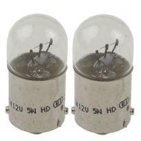 Lightec - 2 lampes de signalisation R5W 12V 5W