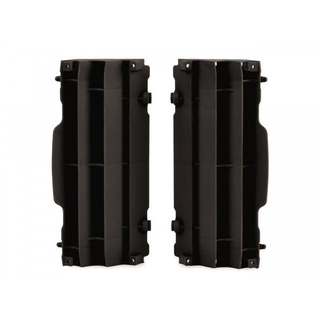 wacox cache radiateur polisport noir ktm husqvarna sx sx f125 07 15 noir pas cher achat. Black Bedroom Furniture Sets. Home Design Ideas