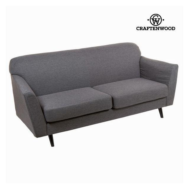 marque generique canap de salon 3 places couleur grise d coration vintage ann e 60 r tro. Black Bedroom Furniture Sets. Home Design Ideas