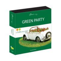 Baci - Livre De Recettes De Cocktails De 4 Assiettes Vert/ORANGE