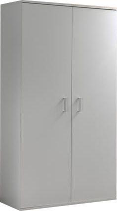 Comforium Armoire 105 cm à 2 portes coloris blanc