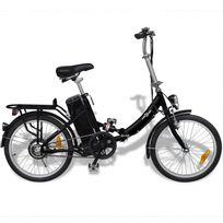 Vélo électrique pliant 25 km/h noir