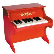Schylling - 4921181 - Instrument De Musique - Piano En Bois - Rouge