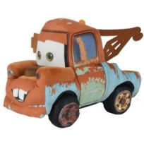 Cars - Peluche Depanneuse Martin 23cm - 3 - Camion Brun - Licence Disney