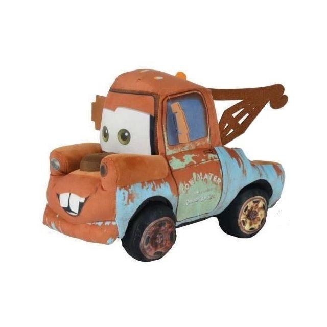 Cars peluche depanneuse martin 23cm 3 camion brun - Depanneuse cars ...