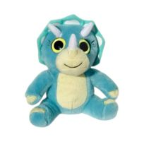Wild Planet - All About Nature - K7866 - Peluche - TricÉRATOPS - 15 Cm