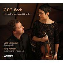 Pan Classics - Carl Philipp Emanuel Bach - Oeuvres pour clavier et violon DigiPack
