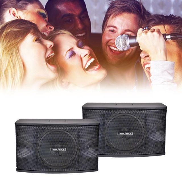 Madison Enceintes karaoke 25CM - 150W