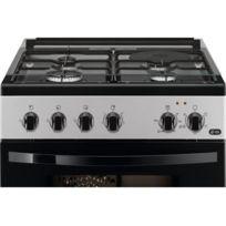 énorme réduction e5a26 b7f35 Cuisiniere - Piano De Cuisine - Fcm650HCSA - Cuisiniere mixte - 3 foyers  gaz + 1 foyer électrique - Four électrique - 54L - A - L60cmxH88,9cm -  Silver