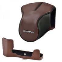 Olympus - Etuis en cuir marron Cs-46FBC