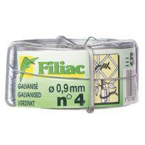 Filiac - Bobine de fil de fer galvanisé N°12 - Ø1.8 mm