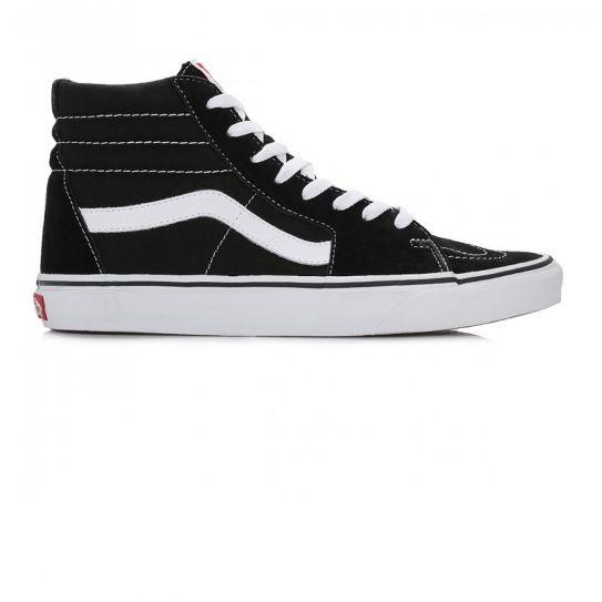Vans - Chaussures Ua Sk8-Hi Black/Black/White e17 Noir