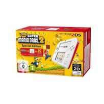 Nintendo - Console 2DS Blanc + rouge + New Super Mario Bros 2