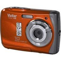 Vivitar - Vx426-ORG-INT Appareil Photo Numérique Etanche 10 Mpix Orange