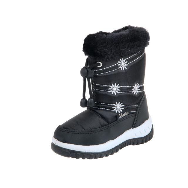 Alpes Vertigo - Bottes neige après ski Bruny noir apres ski g Noir 52075