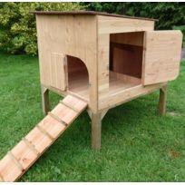 poulailler 6 poules achat poulailler 6 poules pas cher soldes rueducommerce. Black Bedroom Furniture Sets. Home Design Ideas