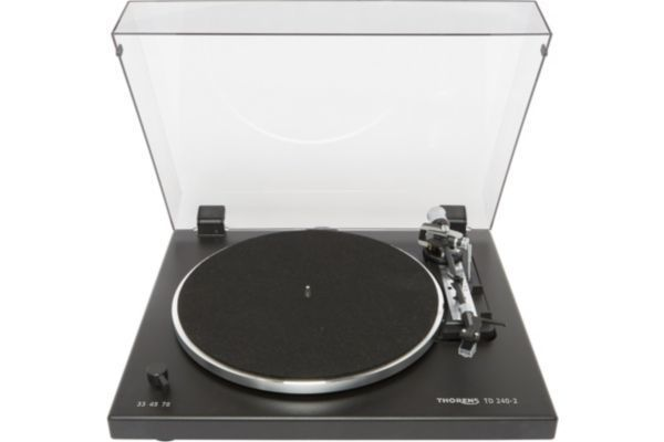 THORENS - Platine vinyle TD 240 Noir Mate