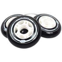 Hyper - Roues de roller Xtr 80 mm noir pack 4 Noir 12704