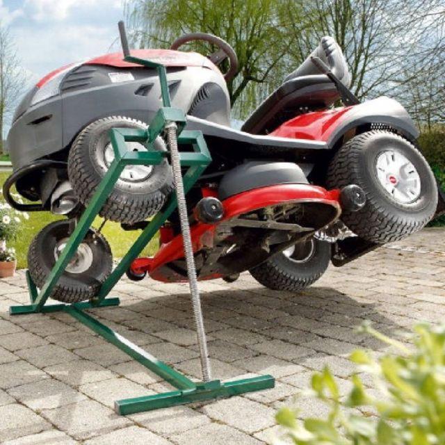 idmarket cric leve tracteur tondeuse 400 kg pas cher achat vente tondeuse autoport e et. Black Bedroom Furniture Sets. Home Design Ideas