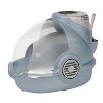 Oster - Maison de toilette anti-odeurs - 220V - Bleu - Pour Chat