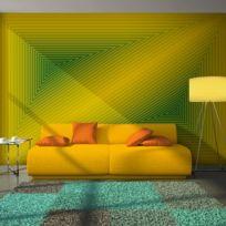 Bimago - A1-LFTNT0554 - Papier peint - triangle - 3D 250x193