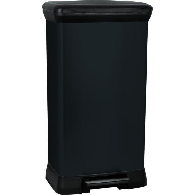 curver poubelle p dale rectangulaire 50 l aspect. Black Bedroom Furniture Sets. Home Design Ideas