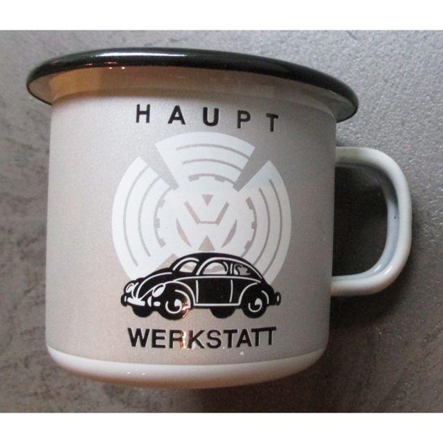 Universel Mug Vw Kdf en email coccinelle cox volkswagen vv tasse café