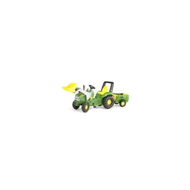 Rolly Toys Tracteur à pédales Rolly X John Deere avec pelle
