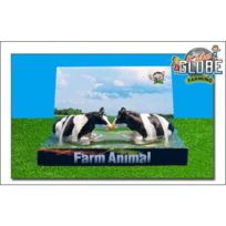Van Manen - 571872 Kids Globe By Toys World - Paire de vaches pour les fermes Kids Globe