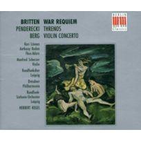 Berlin Classics - War Requiem / Concerto pour violon