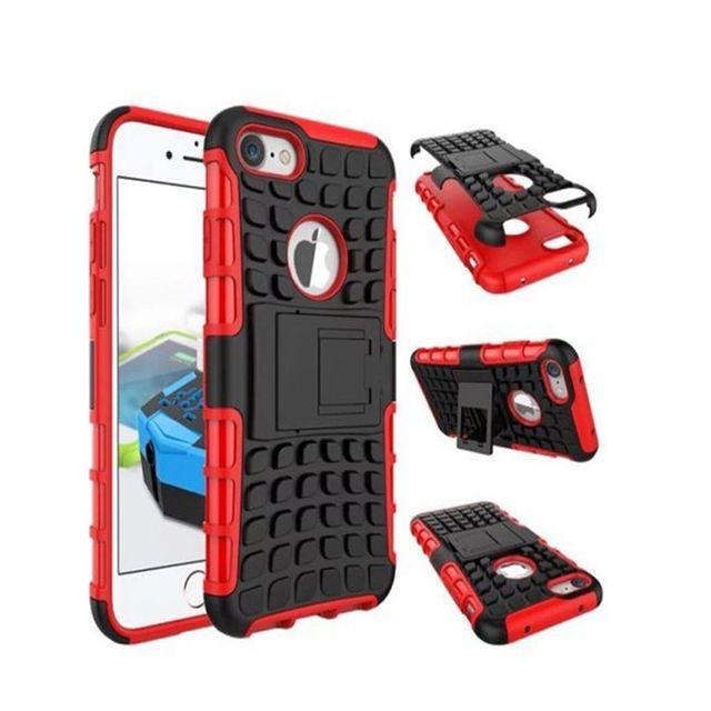 iphone 7 coque antichoc rouge