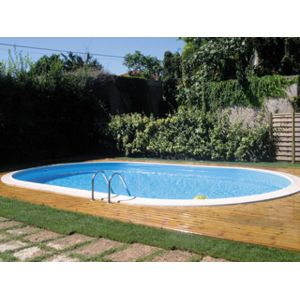 Gr pools vigipiscine kit piscine enterr e acier gr for Piscine enterree acier ovale