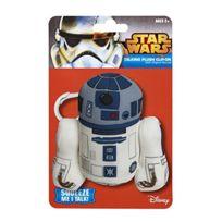 Bg Games - Star Wars Porte-clefs Peluche Sonore R2D2 10 Cm Underground Toys
