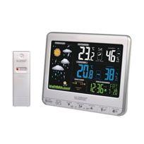 Lacrosse Technology - Ws6826WHI-SIL Station météo avec écran coloré animé Argent et Blanc