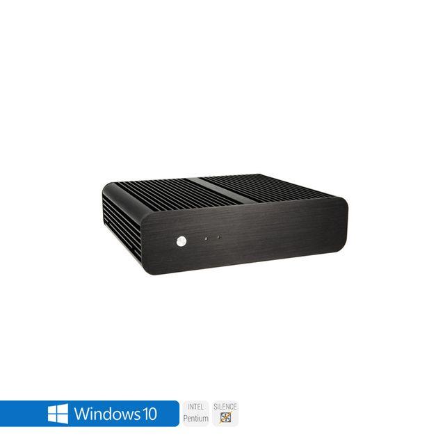 SEDATECH Mini-PC passif, Intel Pentium, 500 Go SSD, 16Go RAM, Win 10. Ref: UCM6509I3I1HF