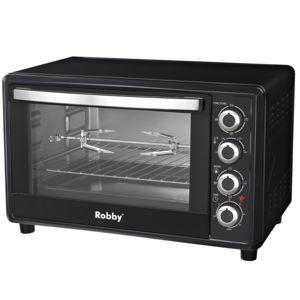 robby four multifonction chaleur tournante 45l 2000w noir oven 45l pas cher achat vente. Black Bedroom Furniture Sets. Home Design Ideas